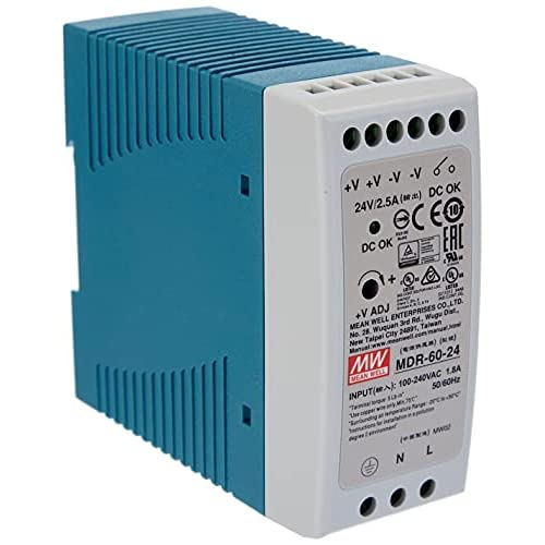 Meanwell MDR-60-24 AC-DC ALIMENTAZIONE DELL'INDICAZIONE DIN INDUSTRIALE