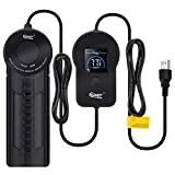 hygger 800W Aquarium Heater, Submersible Fish Tank Water Heater with External Color LED Digital Temperature Controller, Fast Heating for 120-180 Gallon for Saltwater and Freshwater