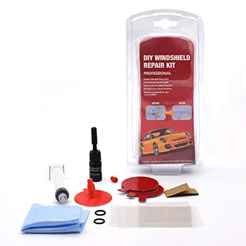 Fanville Auto Windschutzscheibe Reparatur Kit DIY Tool Auto Glas Reparatur Set für Fahrzeugtür Windschutzscheibe Kratzer Reparatur und Glas Reparatur