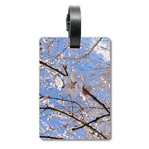 Cherry Blossom Ramo Fotografia Cruise Valigia Borsa Tag Tourister Identification Label