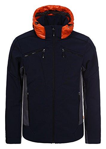 Herren Skijacke / Softshelljacke Icepeak - CARTER ( blau ) Outdoor Funktionsjacke, Gr. S