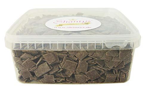 Shantys Melts - BRAUN - 1 Kg - Schmelzschokolade, Candy Cake Pops 1A-Qualität
