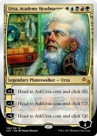 Wizards of the Coast Urza, Academy Headmaster - Unstable