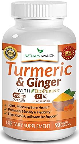 Extra Strength Turmeric Curcumin with Ginger &...