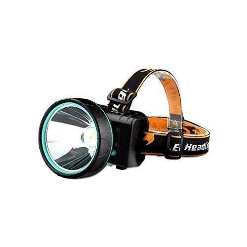 Hanpiyigqxd Luces Para Bicicletas, Antorcha de la cabeza del LED al aire libre de alto brillo de 3000 metros de largo alce, faro ligero con 3 modos, impermeable, super brillante, corriendo, pesca, cam