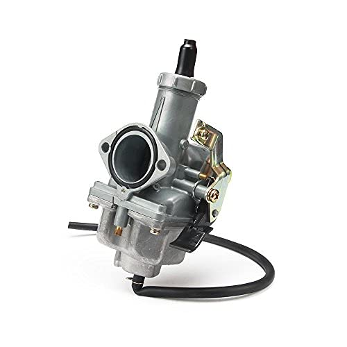 JFG RACING Cable Choke PZ30 30mm colector de admisión Carburador para motocicleta 200/250CC Dirt Bike ATV Quad Taotao