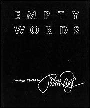 Empty Words: Writings '73-'78