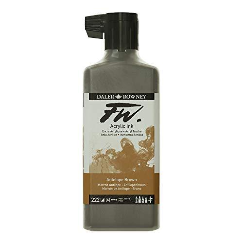 FW Acrylic Ink 180ml Antelope Brown
