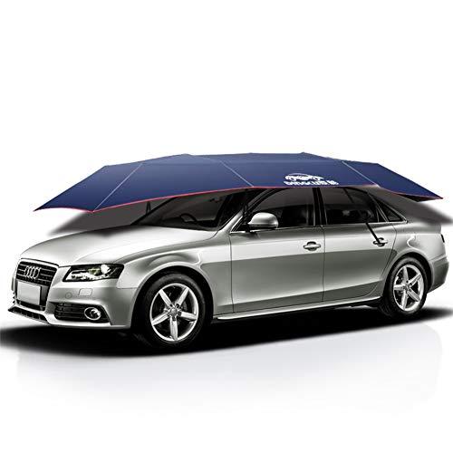 Dachzelt, automatisch gefalteter Auto-Regenschirm, tragbarer beweglicher Auto-Schutz-Auto-Zelt-Sonnenschutz, verwendbar für kampierenden Schatten im Freien Anti-UV Sun-Proof
