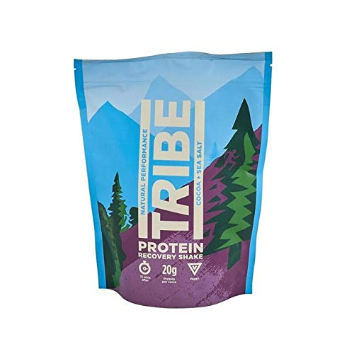Tribe Vegan Protein Recovery Shake, Cocoa & Sea Salt, 40 g
