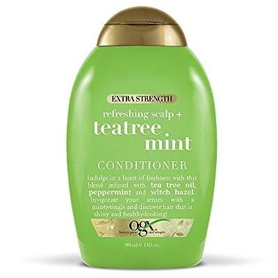 OGX Extra Strength Refreshing Scalp + Tea Tree Mint Shampoo, 13 Ounce