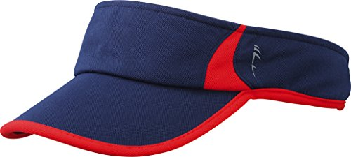 Myrtle Beach Running Sunvisor | navy/red | one size im digatex-package