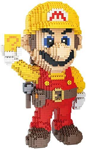 Niños Mini Mario Building Blocks Montaje 2550Pcs Modelo De Dibujos Animados Niños Juguetes De Ladrillo Juguete Educativo Esqueleto (Ingeniero)