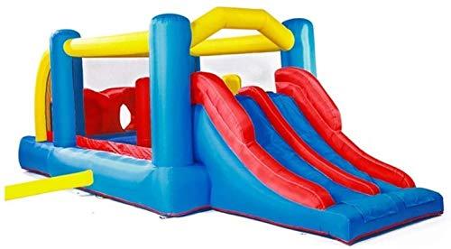Vivid Diversión al Aire Libre Castillo Inflable Castillo Inflable Castillo Interior y al Aire Libre Salto Trampoline Kindergarten Pequeños Juguetes Cuadrados