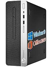 HP デスクトップPC 400G5/MS Office 2019/Win 10 Pro/Core i5-8500/HDMI/wajunのWIFI/Bluetooth/DVD-RW/16GB/1TB SSD「win11 無料アップグレード対応」 (整備済み品)