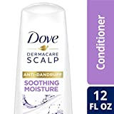 DOVE HAIR Dermacare Scalp Soothing Moisture Anti-Dandruff Conditioner, 12 Fl Oz...