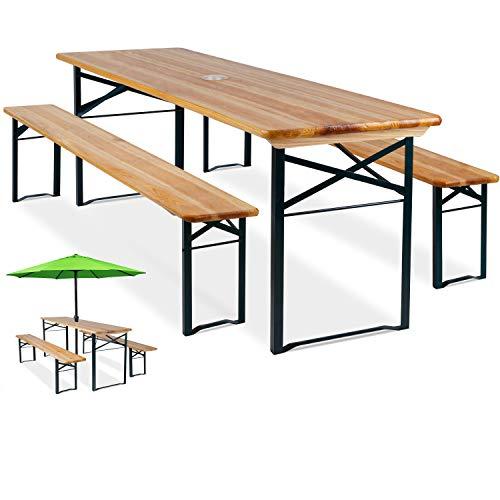 KESSER KESSER® 3 teilig Gartenmöbel-Set Klappbar Bild