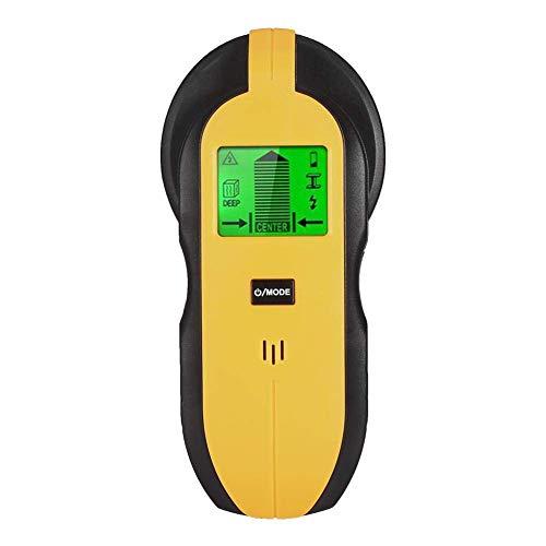 Yongenee TH250 LCD Digital Stud Finder Wall Scanner Electric Cable Detector de cable Cableado Centro de madera Encontrar Partamentos metálicos Detector Herramientas de medición