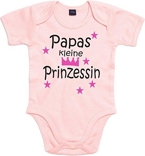 WarmherzIch Baby Body Papas kleine Prinzessin Strampler liebevoll bedruckt Königin Chef ein und Alles Queen