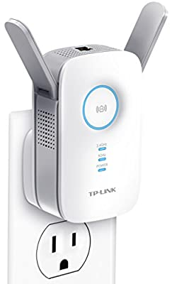 TP-Link AC1200 Wi-Fi Range Extender   Gigabit Ethernet Port  Compact   Intelligent Signal LED Ring (RE350)