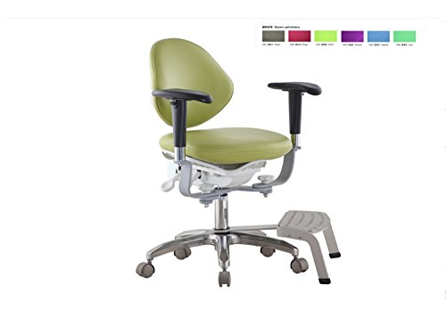 First Dental Meidcal - Sillón dental con base de pie MDS-PB con reposabrazos
