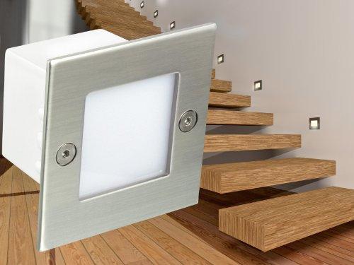 Luces de LED empotrable para pared, escaleras Etapa de lámpara, iluminación Piko...