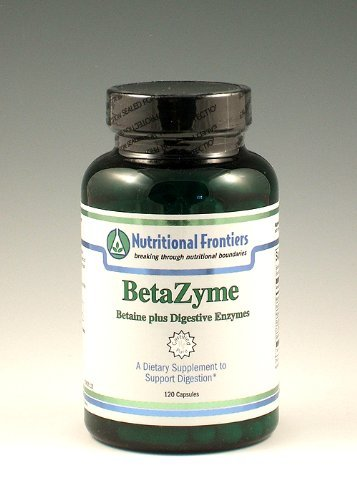 Nutritional Frontiers - BetaZyme - 120 Capsules
