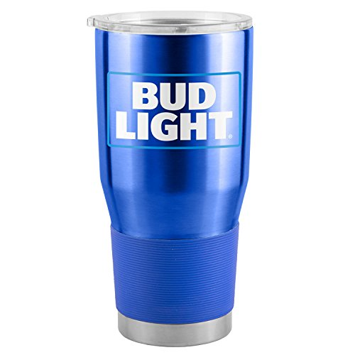 Bud Light 30 Oz Metallo Tumbler Cup