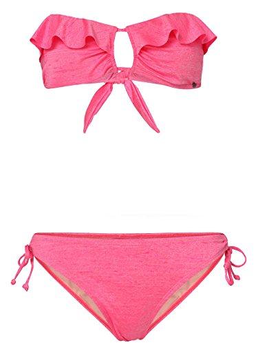O'NEILL Bikini PW Crochet&YD Bandeau, Mujer, Rosa, 42B (Talla Fabricante: 42B)