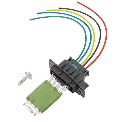 YAOPEI 77364061 Resistencia del ventilador del motor del calentador + arnés de cableado de enchufe