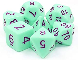 HD Polyhedral Dice Sets D&D Dice for Dungeon and Dragons RPG Role Playing Games MTG Pathfinder Table Top Games 7 Dice Set ...