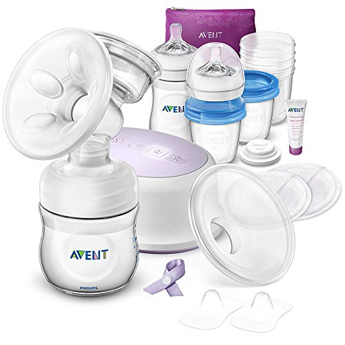 Philips Avent Ultra Comfort Single Electric Breast Pump and Feeding Set, SCD292/31