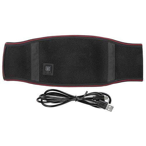 Cinturón Calefactor, Cinturón Calefactor Para La Espalda Cintura Recargable Almohadilla Térmica Alivio Del Dolor Soporte Lumbar Soporte Lumbar Soporte