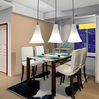 Moderne kroonluchter plafondverlichting hanger E27 23 * 19 cm Funnel Cone-Cone Type enkele trompetvormige tafellamp van glas Eenvoudig scheiden van de LED-lamp 3C Ce Fcc Rohs voor de slaapkamer in W