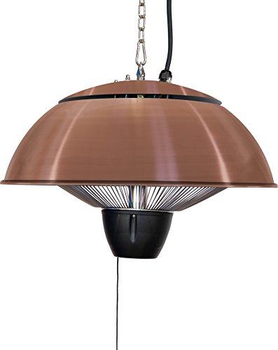 Firefly 1.500 Watt Infrarot-Heizstrahler (Halogen) Terrassenheizung, Deckenmontage, kupferfarben - 4