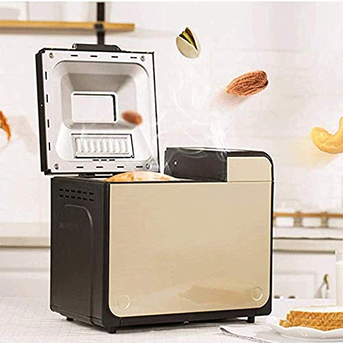 YANG Automatic Breadmakers Bread Maker Machines Dough Kneading Yogurt Breakfast Machine Multifunctional Intelligent Appointment Time for Baking Home DIY