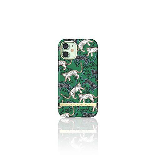 Richmond & Finch Diseñada para iPhone 12 Mini 5.4 Fundas, Verde Leopardo Fundas para iPhone 12 Mini 5.4