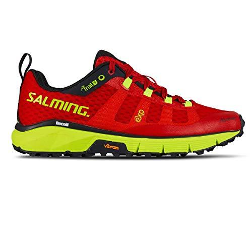 Salming Women Trail 5 Trail Running Shoe Running Shoes Grey - Pink 7