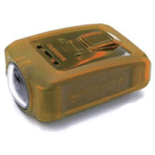 SHIMANO - Custodia protettiva in silicone per CM-1000, colore: Arancione trasparente