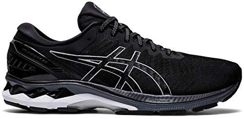 ASICS Gel-Kayano 27, Men's Running Shoes, Black Pure Silver, 48 EU