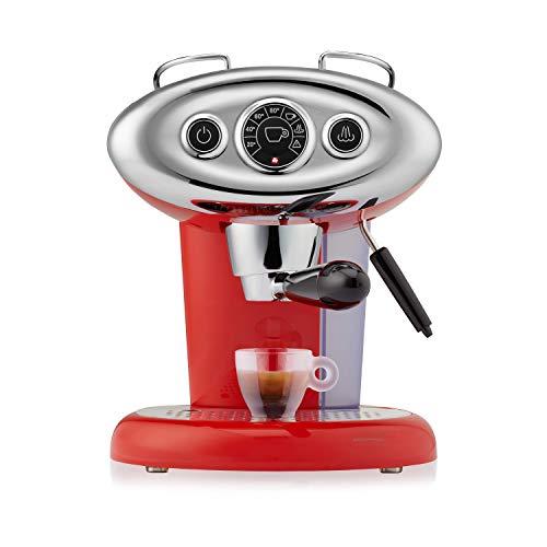 illy Kaffee, Kaffemaschine für Iperespresso Kapseln X7.1 Rot