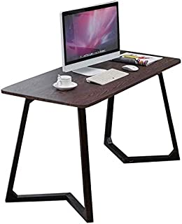 High quality Tables Computer Desks Study Furniture, Home Office Gaming PC Writing Work 2 Minutes To Assemble (Color : Black)