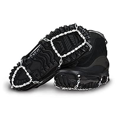 ICETrekkers Diamond Grip Traction Cleats (1 Pair), X-Large (Men's 13)