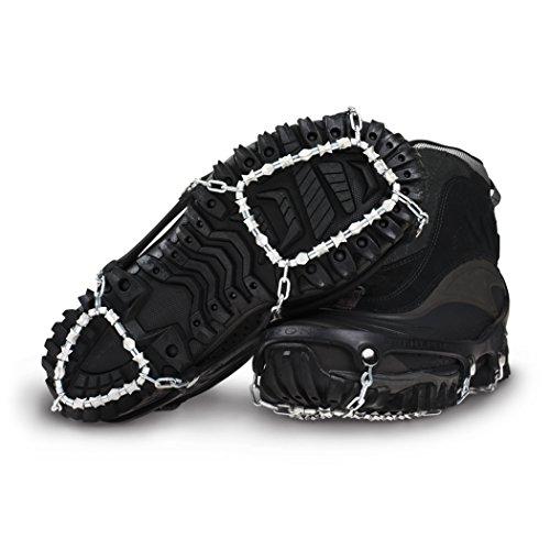 ICETrekkers Diamond Grip Traction Cleats (1 Pair), Large (Men's 9.5-12/Women's 10.5)