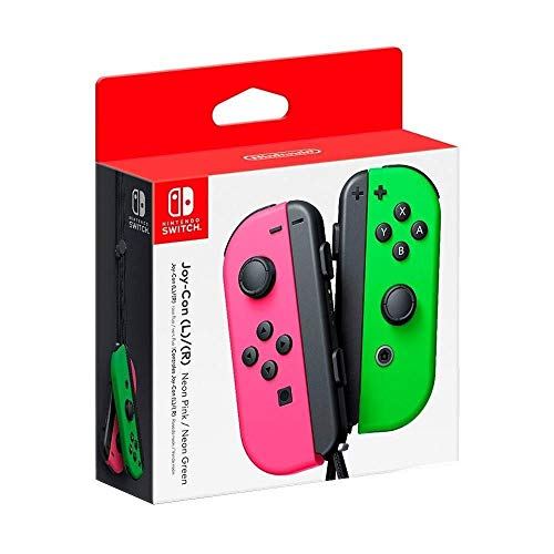 Controle Nintendo Joy con - Verde e Rosa - Nintendo Switch (Nacional)