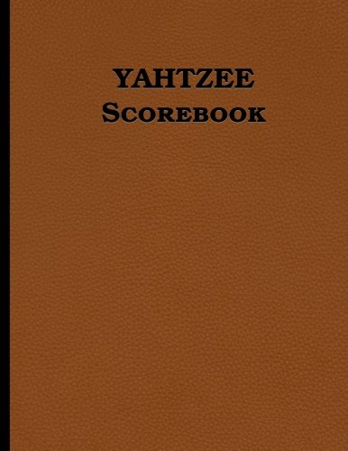 Yahtzee Scorebook: 100 pages (8.5