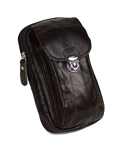 ROOGU Handmade > Shérif XL < Easy-Click Sac de taille Étui avec sangle fait main cuir naturel véritable vintage