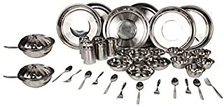 ROYAL SAPPHIRE Stainless Steel Dinnerware Set 40 Pieces