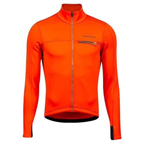 PEARL IZUMI Intervallo Termico LS Jersey Uomini Solar flare Dimensione S 2020 Bike Jersey Longsleeve