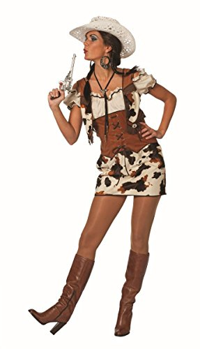 Western Damen Kostüm Cowgirl Kleid Karneval Fasching Gr.38